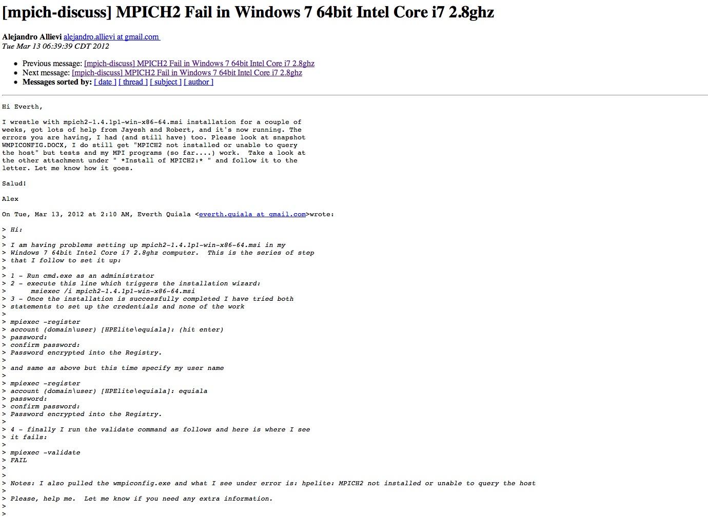 mpich 3.0.2
